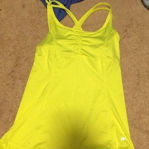 Fluorescent workout top